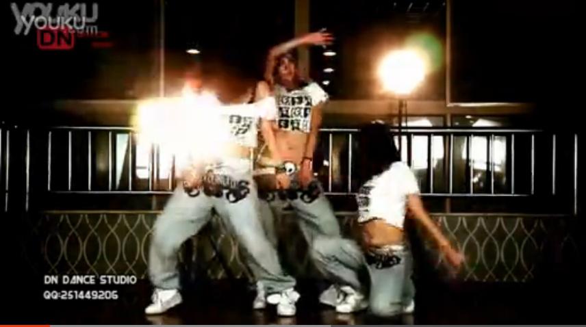 【蒂恩】DN爵士舞—Usher《Lil Freak》舞蹈教学视频_高清