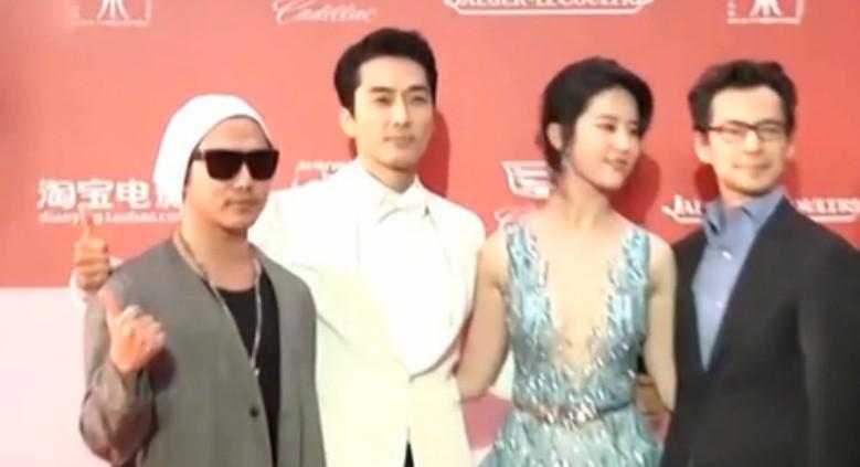 刘亦菲:宋承宪拍吻戏很专业 给我很多善良灵感