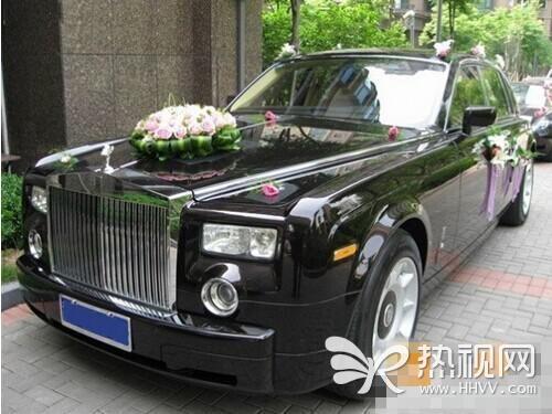 黄晓明婚车曝光劳斯莱斯配奔驰 明星奢华婚礼十宗最