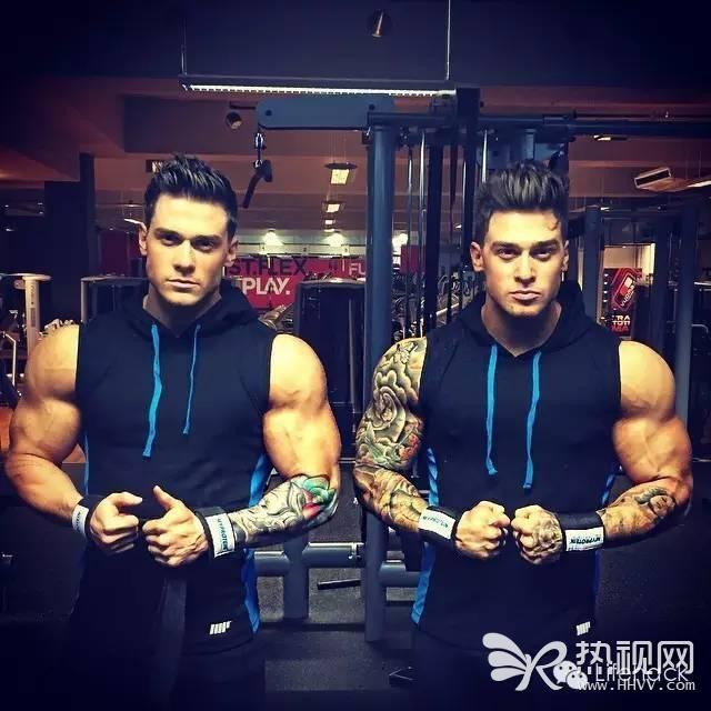 史上最帅肌肉双胞胎 颜值