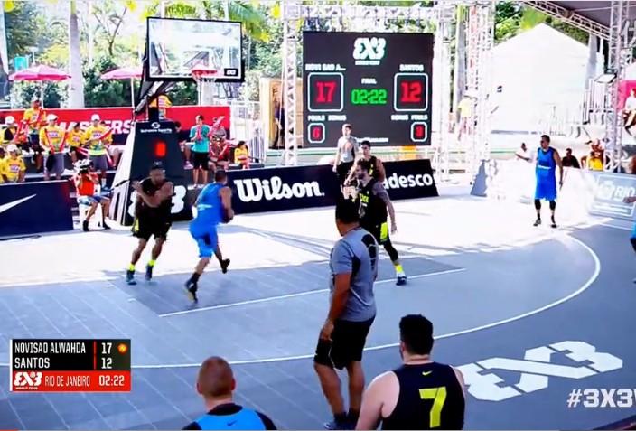 FIBA3x3里约赛五佳球
